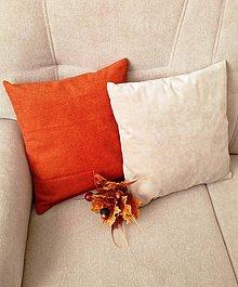 Úžitkový textil - sada vankúšov teplo domova - 11179890_
