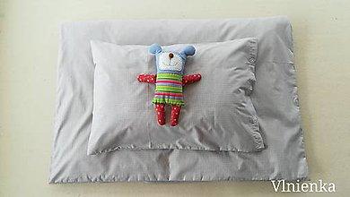 Úžitkový textil - Obliečky/ návliečky do postieľky 100% bavlna na mieru KARO - 11178082_