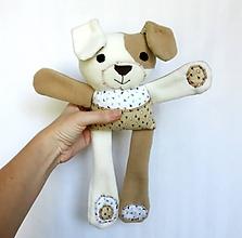Hračky - Textilné zvieratko - Havino zo Srdiečkova - 11177583_