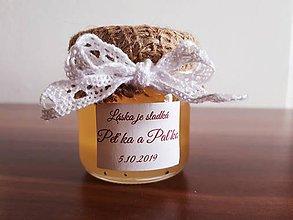 Darčeky pre svadobčanov - Svadobný minimedík - 11177857_