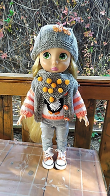 Hračky - Zuzla oblečenie pre bábiku - 11178884_