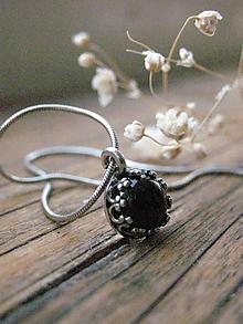 Náhrdelníky - Onyxe - náhrdelník - 11177561_