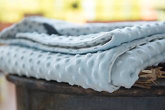 Textil - Míľniková deka pre bábätko - 11179898_
