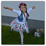 Detské oblečenie - Slovak folk - 11180364_