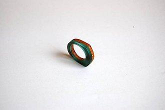 Prstene - Dreveno - živicový prsteň 1 - 11179916_