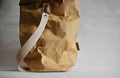 """Veľké tašky - SnapPap-Beige """" Veľká taška na všetko"""" - 11179023_"""