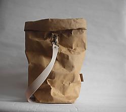 """Veľké tašky - SnapPap-Beige """" Veľká taška na všetko"""" - 11179025_"""