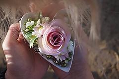 Dekorácie - Srdce do dlane - 11179354_