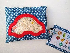 Hračky - Pátračka - červené autíčko (Spy bag) - 11178560_