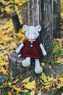 "Hračky - Myška ""Molly"" - 11180045_"