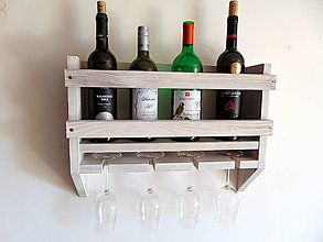 Nábytok - Stojan na víno - 11179508_