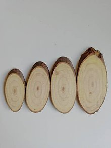 Materiál ručne robený - Plátky z vianočného stromčeka 2 - oválne - 11178540_