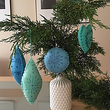 Dekorácie - Vianočné ozdoby - Baby friendly - 11180415_