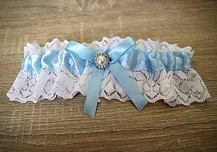 Bielizeň/Plavky - svadobný podväzok - 11180088_