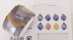 Papier - Akcia - Washi  lupienky kvetov - 11180391_