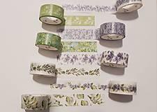 Papier - Akcia - Washi pásky 1,5cm x 2m - 11180568_