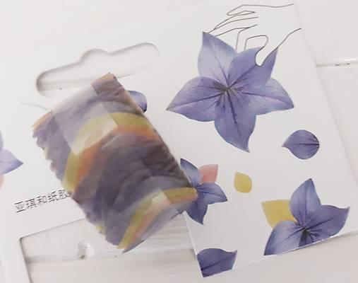 Akcia - Washi  lupienky kvetov