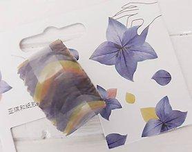 Papier - Akcia - Washi  lupienky kvetov - 11180393_