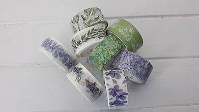 Papier - Akcia - Washi pásky 1,5cm x 2m - 11180567_