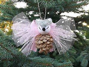 Dekorácie - Líška na vianočný stromček - 11179812_