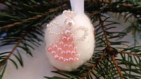 Vianočné oriešky-anjel
