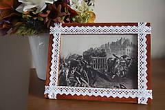 Vintage rámik na fotku - 13x18