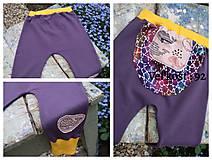Detské oblečenie - Detské tepláčiky, veľryby - veľkosť 92 - 11180278_