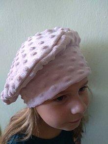 Detské čiapky - dievčenská čiapka - 11178212_