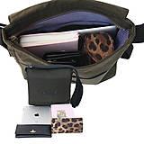 Veľké tašky - Unisex taška CUBE GREEN - 11180739_