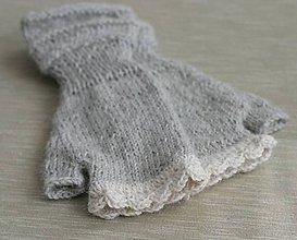 Rukavice - bezprstové rukavičky - 11180253_