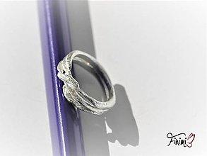 Prstene - Spletený z vetvičiek - 11179523_