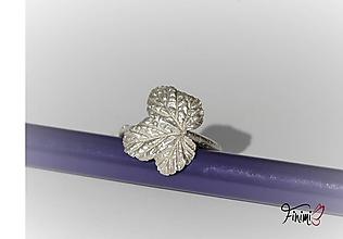 Prstene - List na prst - 11181028_