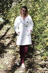 Kabáty - Ručne maľovaný kabát - 11177709_