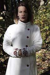 Kabáty - Ručne maľovaný kabát - 11177711_
