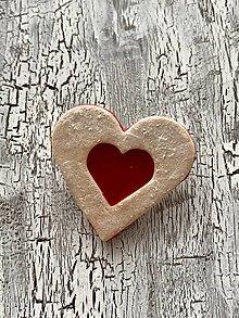 Odznaky/Brošne - linecke srdce - brosna - 11179803_