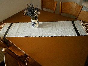 Úžitkový textil - tkana stola - 11183626_