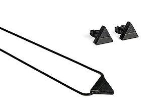 Náušnice - Earrings & Necklace Nox Set - 11182176_