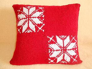 Úžitkový textil - Vankúš-hviezdičky - 11185012_