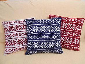 Úžitkový textil - Vankúše 2 + 1 zdarma - 11185125_