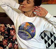 Mikiny - Planeta/ JN biela mikina - 11184158_
