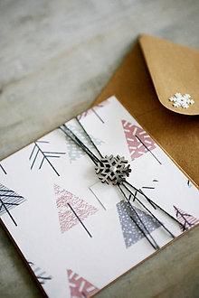 Papiernictvo - Vianočná pohľadnica - 11184087_