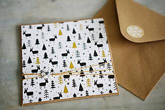 Papiernictvo - Vianočná pohľadnica - 11184176_