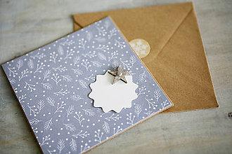 Papiernictvo - Vianočná pohľadnica - 11184185_