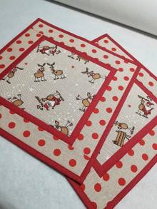 Úžitkový textil - Prestieranie sobíky - 11184632_