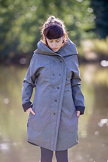 Kabáty - Sshell kabát KALK NEST - 11184499_