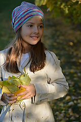 Detské čiapky - BAREVNÁ melír - 11182474_