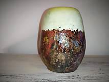 Nádoby - Keramická nádoba-raku - 11182123_