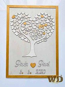 Dekorácie - Svadobný strom 90 ľudí - 11184731_