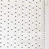 Textil - hviezdičky so zlatotlačou, 100 % bavlna Francúzsko, šírka 150 cm - 11182398_