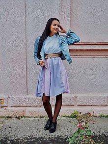 Šaty - Triple recyklované košeľové šaty - 11185631_
